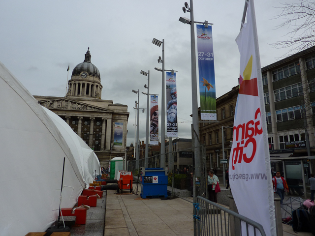 GameCity banners