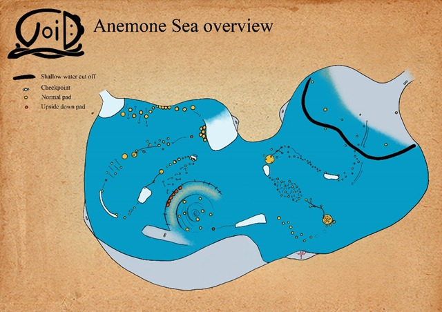 Anemone Sea Layout